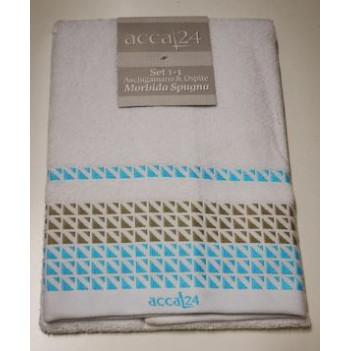 Coppia asciugamani accal24...