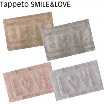 tappeto bagno smile&love...