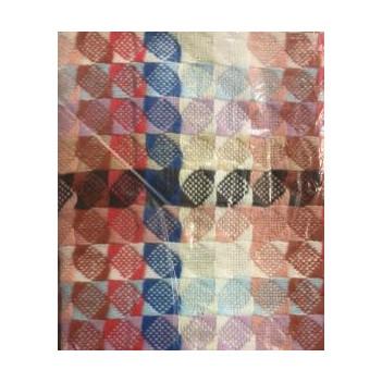 Coperta vintage 170x260 quadri