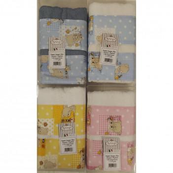 Coppia asciugamani bimbo 1+1