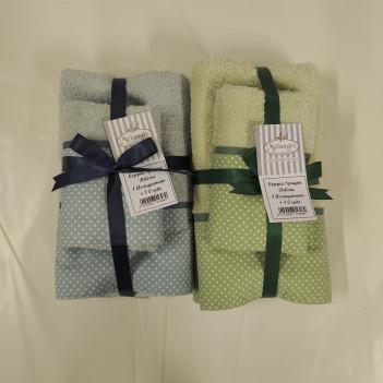 Coppia asciugamani delizia...