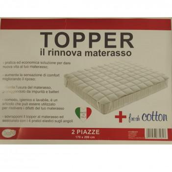 Topper microfibra 2 posti