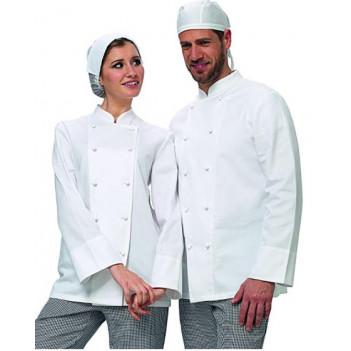 Giacca da Cuoco Bianca unisex