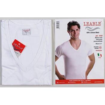 T-shirt da uomo a V e...
